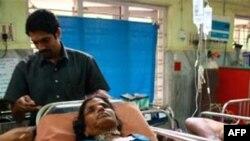 Hindistanda dini mərasim zamanı yaranan basırıq nəticəsində 16 adam həyatını itirib