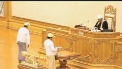 2012-08-15 美國之音視頻新聞: 緬甸溫和派將領宣誓擔任副總統