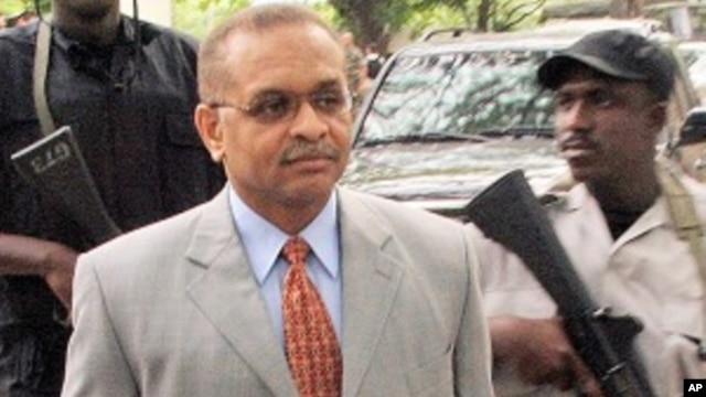 Former Haitian Justice Minister Bernard Gousse (file photo)
