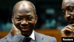 L'ex-ministre des affaires étrangères bu Burkina Djibrill Bassolé lors d'une visite à Bruxelles, 5 février 2013.