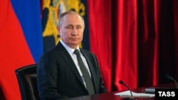 Владимир Путин, 26 февраля 2020 года