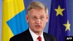 Švedski ministar inostranih poslova Karl Bilt
