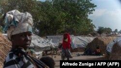 Campo de deslocados 25 Junho, Metuge, Cabo Delgado