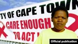 Maadhimisho ya Siku ya Ukimwi Duniani mjini Capetown, Afrika Kusini.