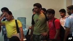 کرغزستا ن میں پھنسے 270 پاکستانی وطن واپس پہنچ گئے