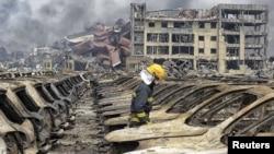 Ledakan maut di kota Tianjin, China menewaskan sedikitnya 114 orang dan melukai ratusan lainnya (foto: dok).