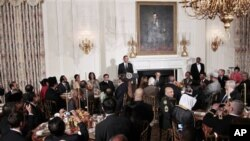 وتاری سهرۆک ئۆباما له ئێوارهخوانێـکی مانگی ڕهمهزانی پـیرۆزدا