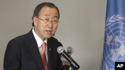聯合國秘書長潘基文 (資料照片)