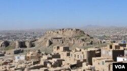 نمای قلعه بالا حصار غزنی