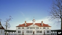 George Washington's plantation home lies about 20 kilometers south of Washington, on the Potomac River. But tourists have no trouble finding it.