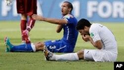 Es la tercera vez que Suárez se encuentra en esta situación.