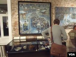 莫斯科的古拉格博物馆。