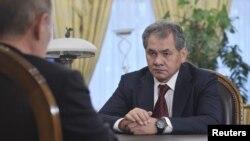 روس کے نئے وزیر دفاع سرگئی شوئیگو(فائل)