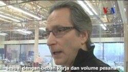 Industri Pendukung Otomotif Beralih Memproduksi Garmen - Laporan VOA 13 April 2012