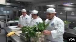 Culinary Arts Students at Carlos Rosario International Public Charter School