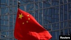 中國國旗。