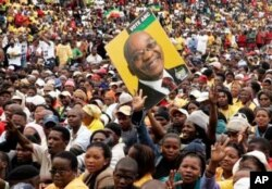 Despite ongoing protests against service delivery in certain ANC-controlled municipalities, analysts say the party retains strong support in South Africa