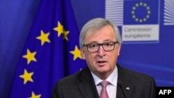 Avrupa Birliği Komisyonu Başkanı Juncker, Birliğin geleceğine yönelik önerilerini çarşamba günü Avrupa Parlamentosu'nda yapacağı konuşmada açıklayacak.