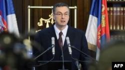Guverner Narodne banke Srbije Dejan Šoškić na konferenciji za novinare (arhivski snimak)