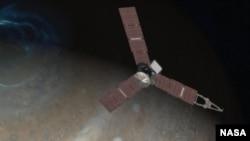 朱諾號飛船以最近的距離觀察木星
