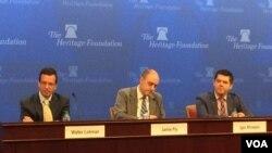 28일 미국 워싱턴의 헤리티지 재단에서 '의회의 시각:2017 아시아' 토론회가 열렸다.