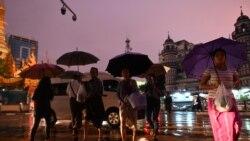 နိုင်ငံတဝန်း မိုးသည်းရေကြီးလို့ လူ ၄ ဦးထက်မနည်းသေဆုံးခဲ့