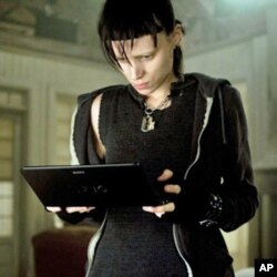 "Rooney Mara Rooney as Lisbeth Salander, a punk computer hacker in ""The Girl With the Dragon Tattoo."""