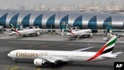 Dubai International Airport di Dubai, United Arab Emirates, 22 Maret 2017. (foto: dok).