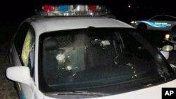 Un auto policial fue tiroteado en el vecindario donde murió el joven.