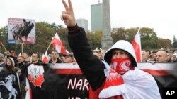 Протест у Варшаві проти квот на прийняття іммігрантів
