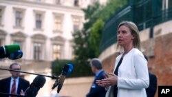 Federica Mogherini, chef de la diplomatie européenne