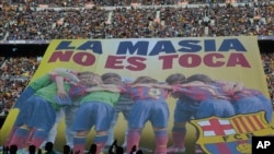 """""""El Barcelona no puede compartir de ninguna manera una resolución que atenta contra el espíritu de nuestra Masia"""", dijo el club."""