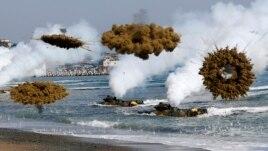 Koretë shkëmbejnë zjarr artilerie