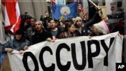 佔領華爾街抗議活動愈演愈烈