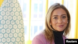 Bumble founder and CEO Whitney Wolfe Herd sits for a portrait in the Manhattan borough of New York City, U.S., January 31, 2019.