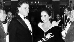 Richard Burton and Elizabeth Taylor in 1969 in Monaco