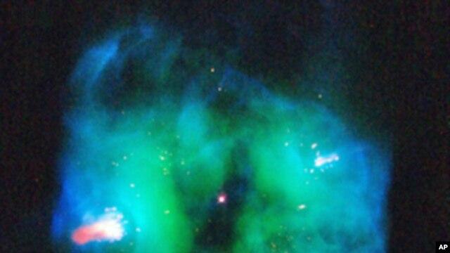 Planetary Nebula NGC 2371 - the glowing remains of a sun-like star