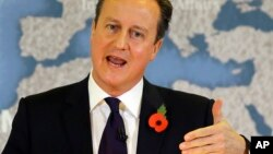 Firayim Ministan Ingila David Cameron