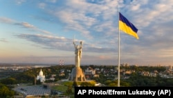 APTOPIX Ukraine State Flag Day