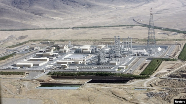 A view of Arak heavy-water project 190 km (120 miles) southwest of Tehran, undated file photo.