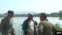 1500 hektarë tokë të përmbytura në zonën e Nënshkodrës