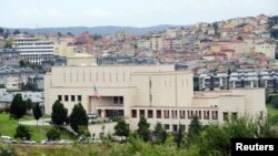 터키 이스탄불의 미국 영사관. (자료사진)