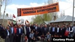İyun seçkiləri öncəsi, Kürəsünni Türklərinin boykot kampaniyası - Van, Qaragündüz kəndi