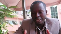 Ange Imanishimwe au micro de Charly Kasereka