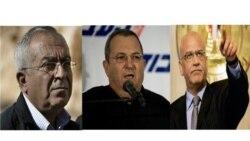هیلاری کلینتون با مقامات اسراییلی و فلسطینی گفت و گو می کند