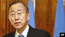 Sekretaris Jendral PBB Ban Ki-moon mendesak pemerintah Suriah agar segera menghentikan kekerasan (foto: dok).