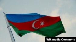 Bandeira do Azerbaijão.