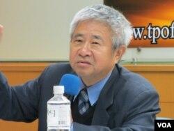 台湾开南大学法律系教授张正修 (美国之音张永泰拍摄)