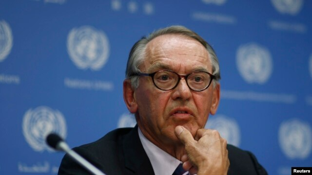 FILE - United Nations Deputy Secretary-General Jan Eliasson.