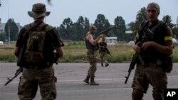 Бойцы батальйона «Донбасс»